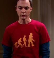 sheldon-evolution-t-shirt