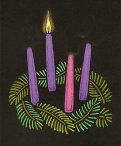 Advent Candles-week1