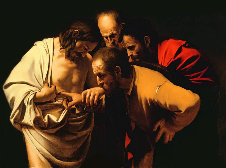 the-incredulity-of-saint-thomas-caravaggio