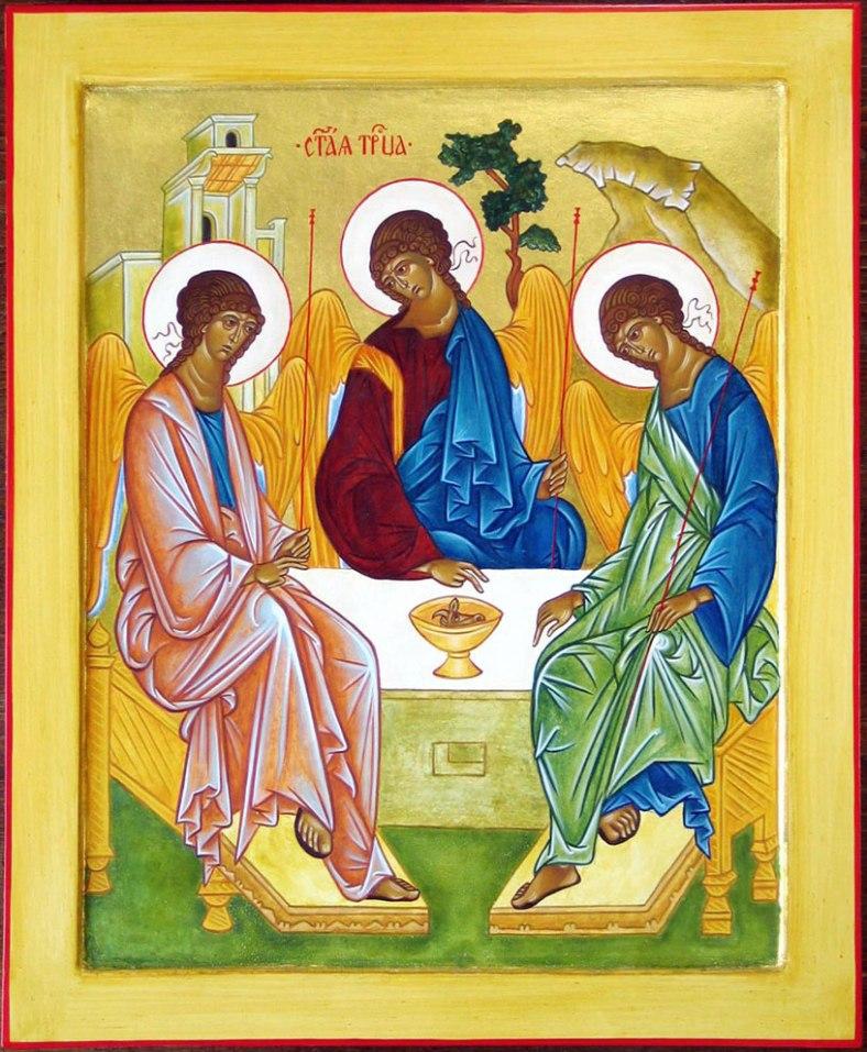 Rublev's Icon on Trinity