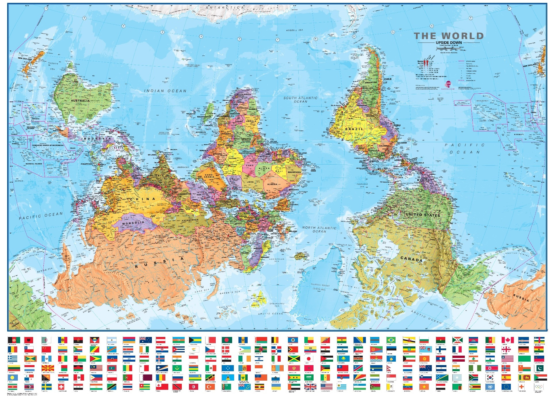 About the upside down map of the world sacredmargins 30m world2008usdpeps gumiabroncs Image collections